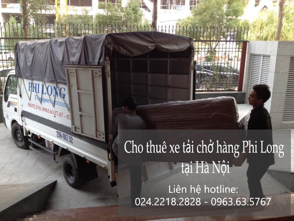 Cho thuê xe tải giá rẻ tại phố Lương Ngọc Quyến