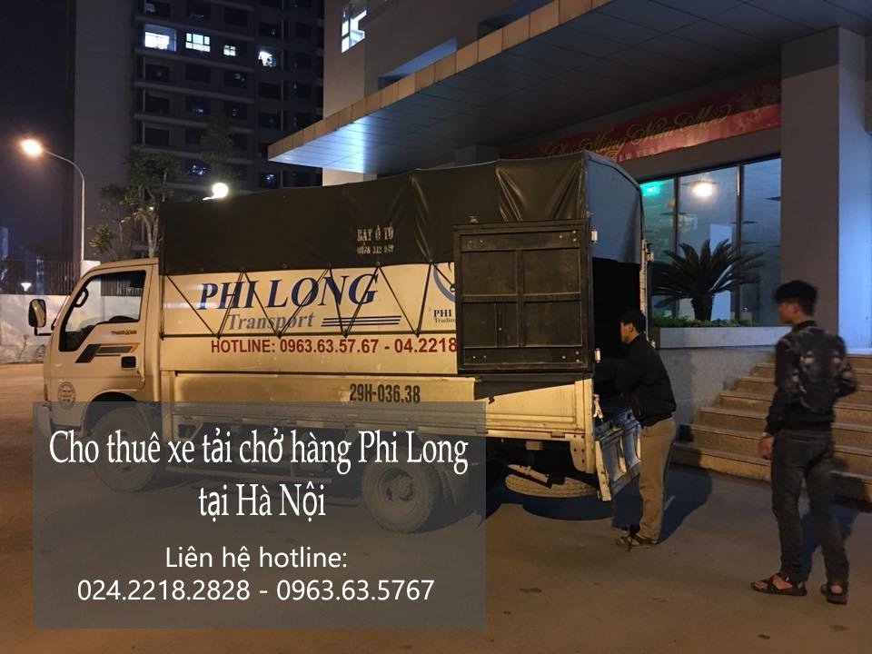 Dịch vụ cho thuê xe tải giá rẻ tại phố Nguyễn Phong Sắc