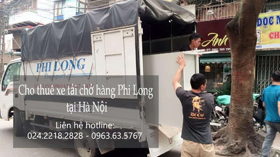 Dịch vụ cho thuê xe tải giá rẻ tại phố Hoàng Đạo Thúy