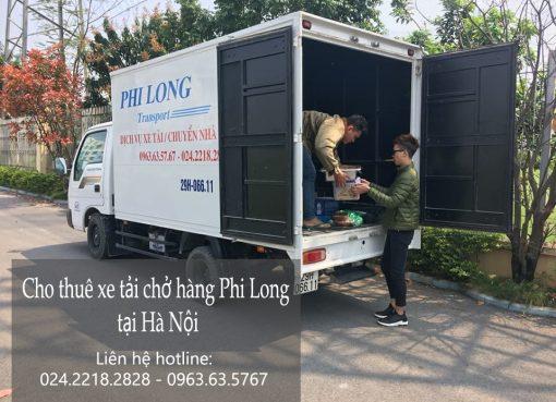 Cho thuê xe tải giá rẻ tại phố Ngô Văn Sở