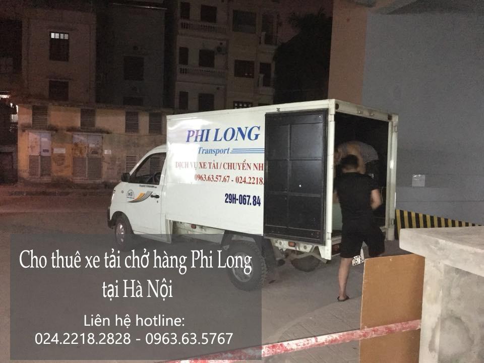Cho thuê xe tải nhỏ chở hàng tại phố Nguyễn Văn Trỗi