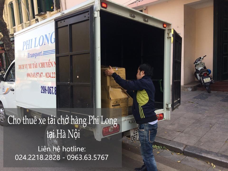 Dịch vụ cho thuê xe tải tại phố Giảng Võ