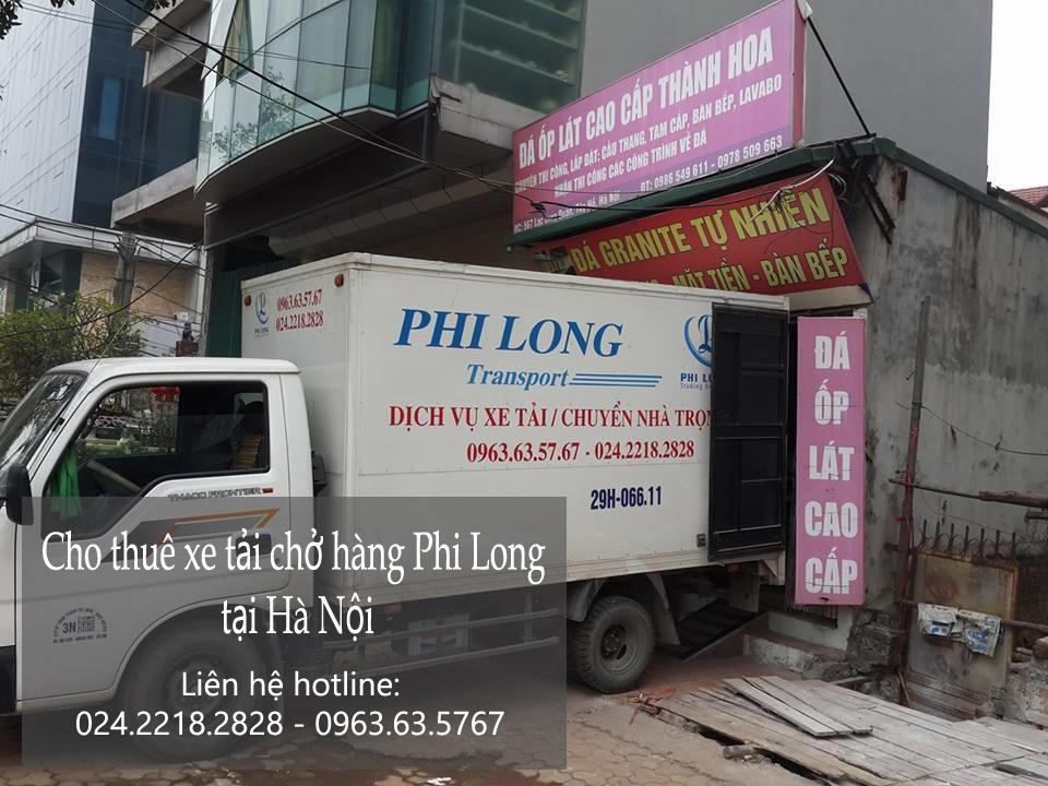 Cho thuê xe tải giá rẻ Phi Long tại khu đô thị ecopark