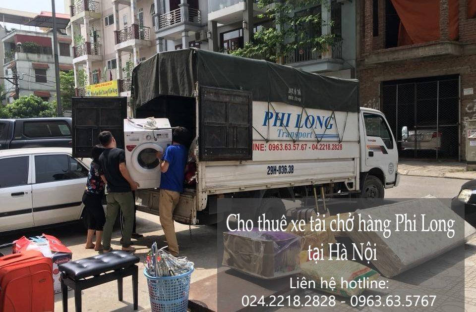 Cho thuê xe tải Hà Nội tại phố Đào Duy Từ