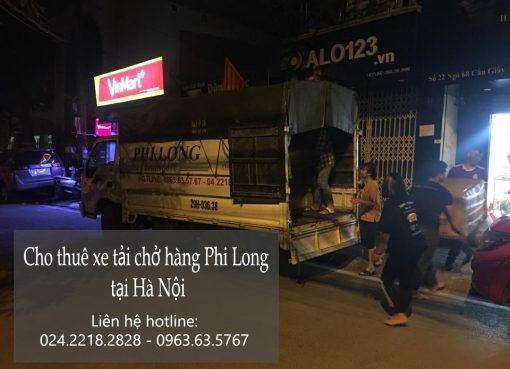 Thuê xe tải nhỏ chở hàng tại phố Kim Đồng