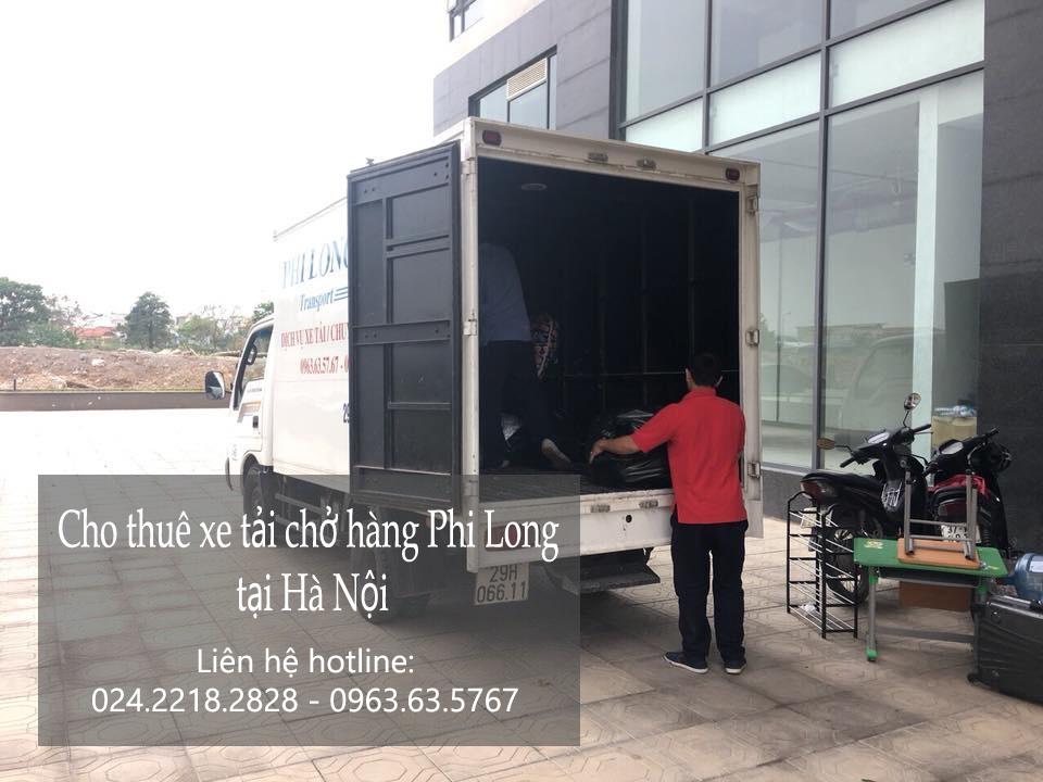Cho thuê xe tải chở hàng giá rẻ tại phố Vũ Phạm Hàm