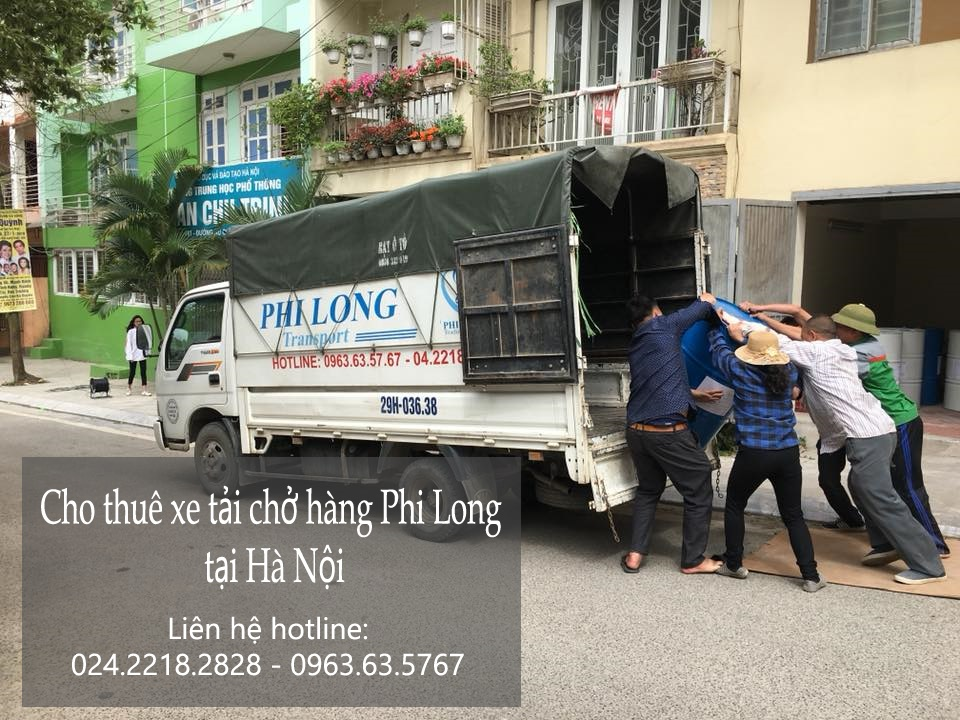 Cho thuê xe tải giá rẻ tại đường Giáp Bát