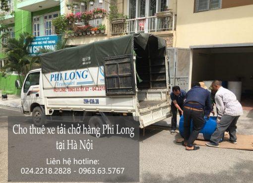 Cho thuê xe tải giá rẻ tại phố Tôn Thất Thiệp