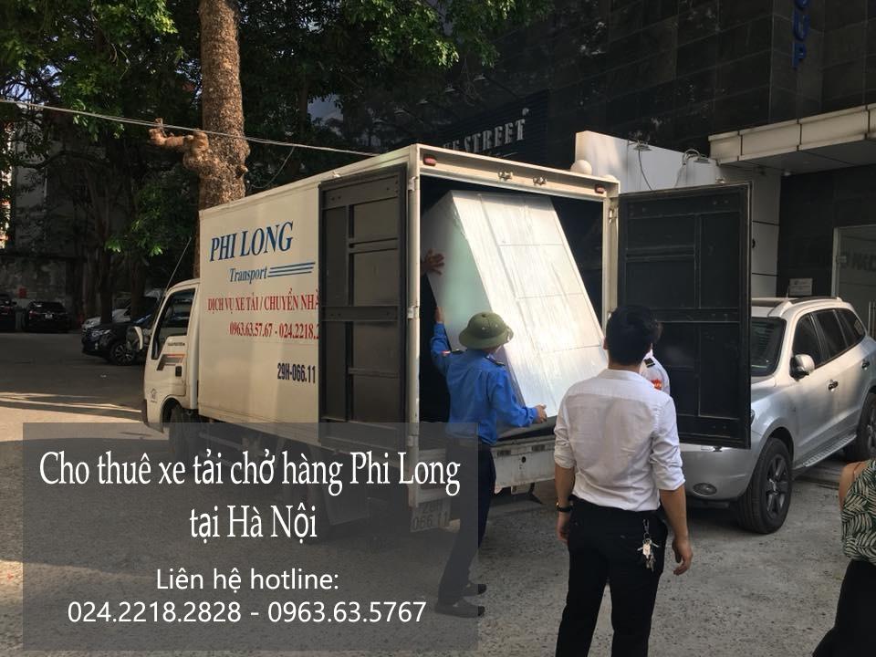 Dịch vụ cho thuê xe tải giá rẻ Phi Long tại phố Dương Khuê
