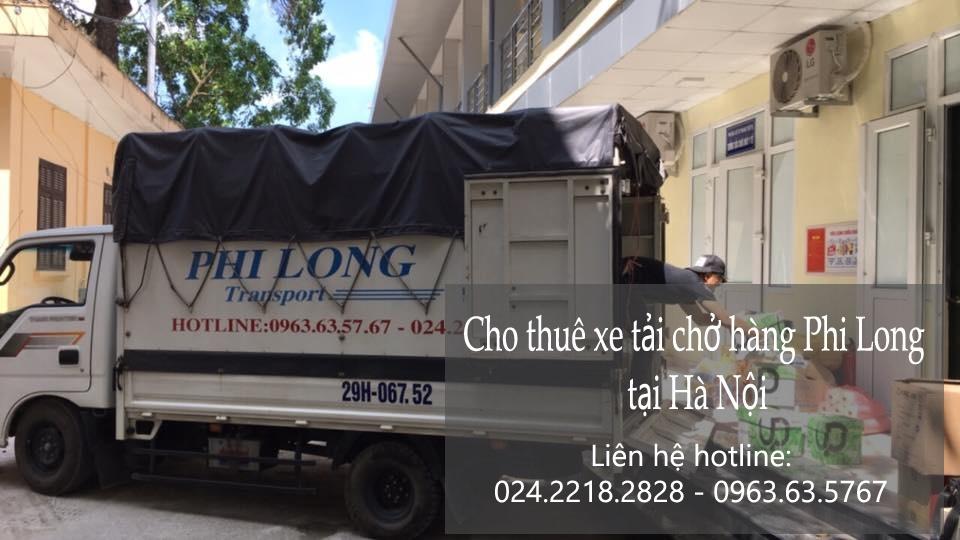 Dịch vụ cho thuê xe tải giá rẻ Phi Long tại phố Đồng Bông