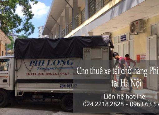 Cho thuê xe tải chở hàng tại phố Ngô Thì Nhậm