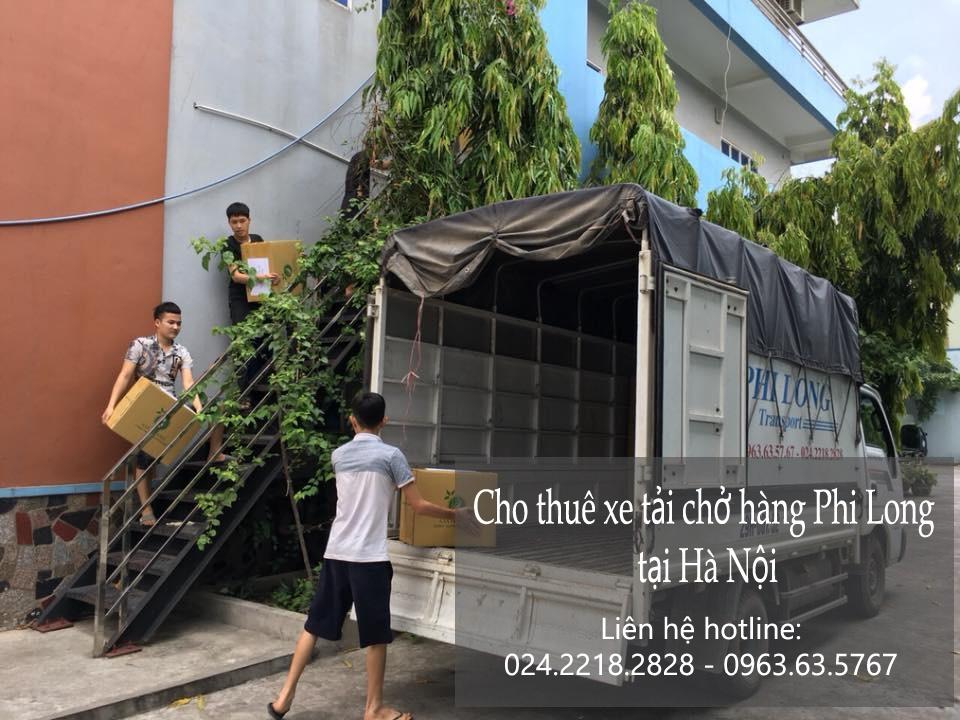 Taxi tải Hà Nội giá rẻ cho thuê tại phố Nguyễn Đình Chiểu