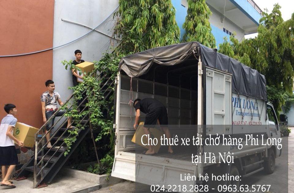 Cho thuê xe tải chở hàng tại phố Tô Tiến Thành