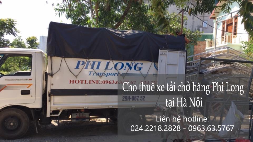 Dịch vụ taxi tải chất lượng tại phố Nguyễn Công Trứ