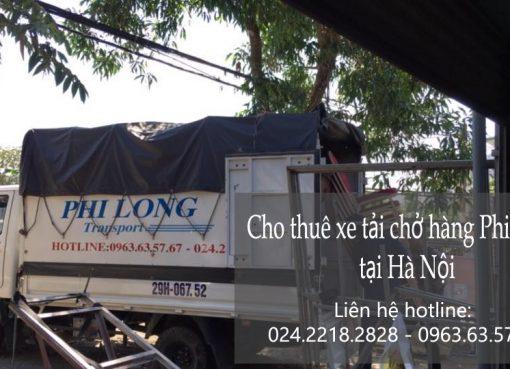 Xe tải chở hàng giá rẻ tại phố Đại La