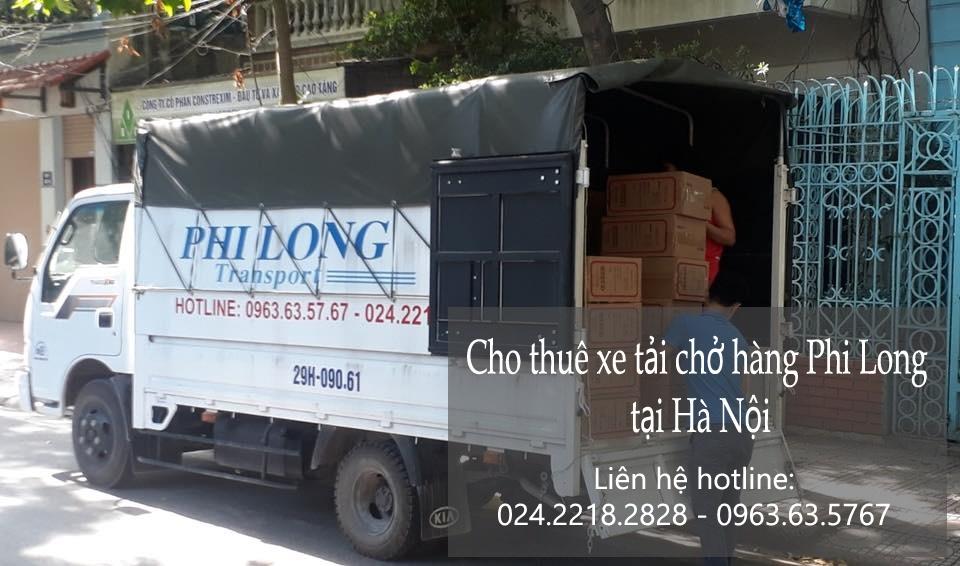 Xe tải chở hàng giá rẻ tại phố Hàng Chiếu