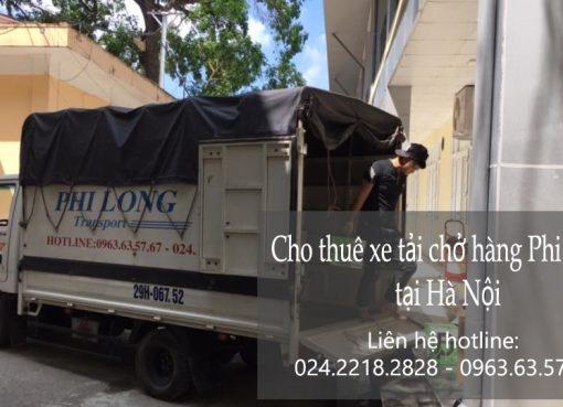 Cho thuê xe tải Hà Nội giá rẻ tại phố Phan Huy Ích