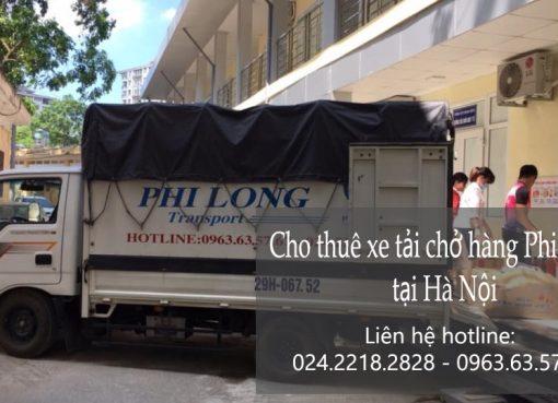 Cho thuê xe tải giá rẻ tại phố Nghĩa Dũng