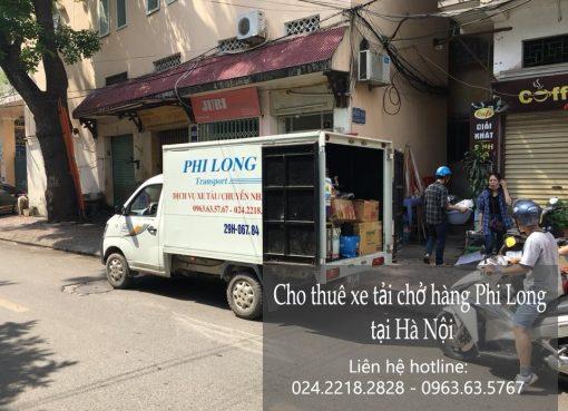 Cho thuê xe tải giá rẻ tại phố Trần Cao Vân