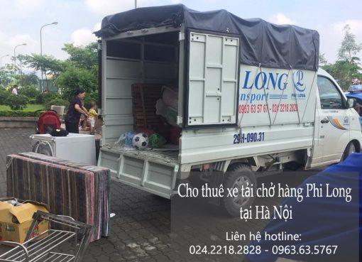 Cho thuê xe tải giá rẻ tại phố Nguyễn Siêu