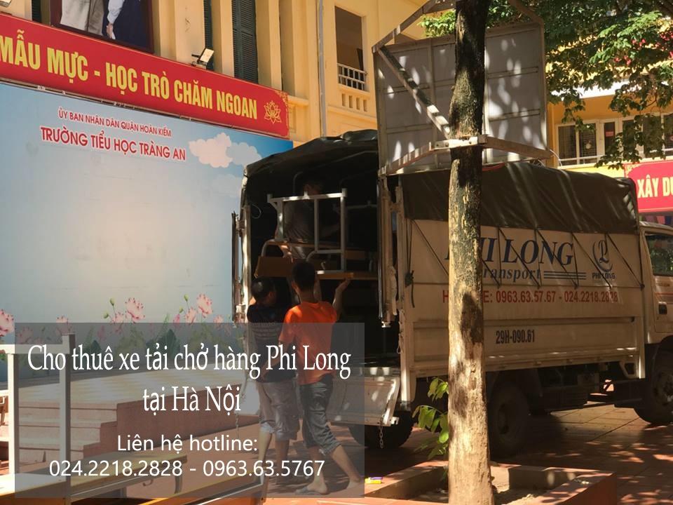 Cho thuê xe tải giá rẻ tại phố Nguyễn Hữu Huân