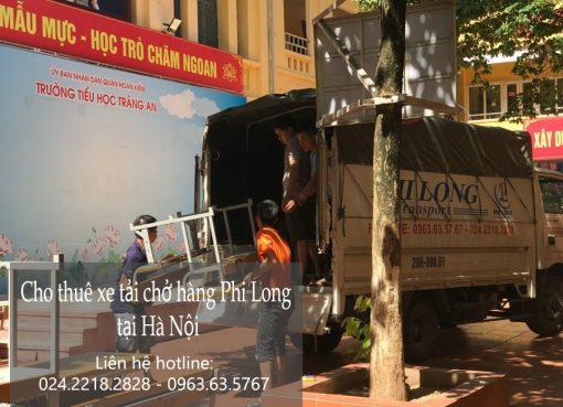 Cho thuê xe tải giá rẻ tại phố Hàng Hòm