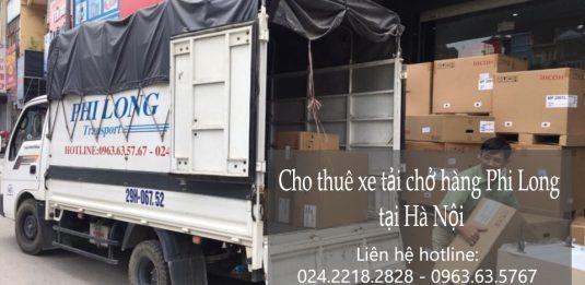 Cho thuê xe tải tại phố Hàng Trống