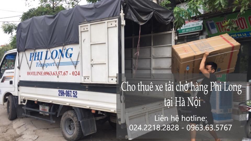 Cho thuê xe tải tại phố Trường Lâm