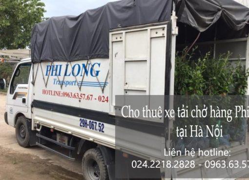 Cho thuê xe tải giá rẻ tại phố Khâm Thiên