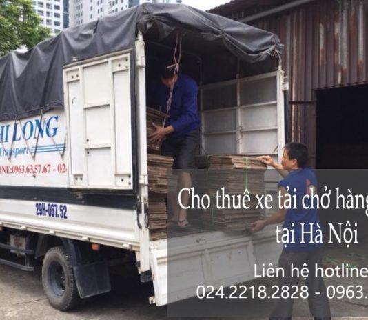 Dịch vụ cho thuê xe tải giá rẻ tại phố Cầu Bắc