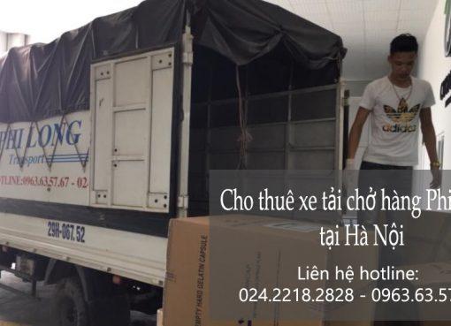 Cho thuê xe tải giá rẻ tại phố Hàng muối