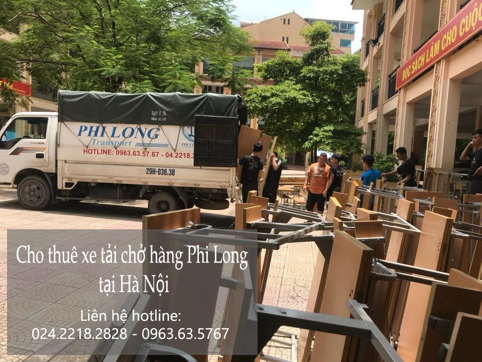 Cho thuê xe tải giá rẻ tại phố Tân Ấp