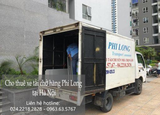 Cho thuê xe tải giá rẻ tại phố Bạch Thái Bưởi