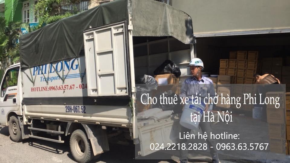 Cho thuê xe tải giá rẻ tại phố Phạm Ngũ Lão