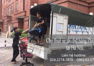Dịch vụ cho thuê xe tải giá rẻ tại phố Hoàng Cầu