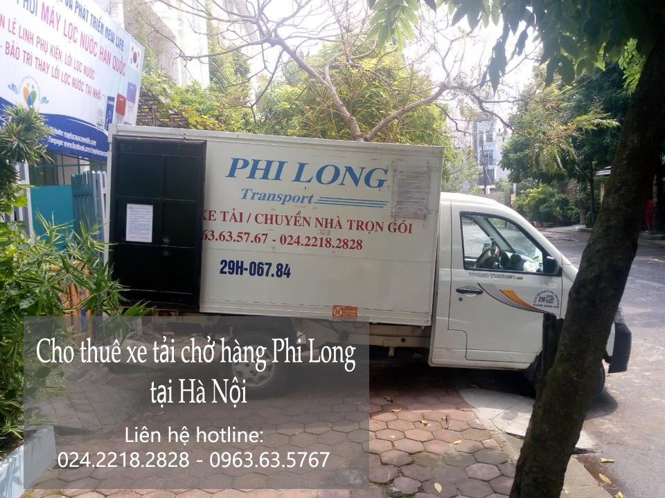 Cho thuê xe tải giá rẻ tại phố Châu Long