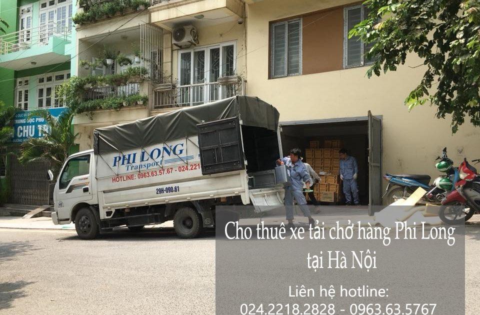 Dịch vụ cho thuê xe tải giá trẻ tại phố Hàng Mành