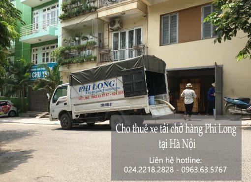Cho thuê xe tải giá rẻ tại phố Hàng Dầu