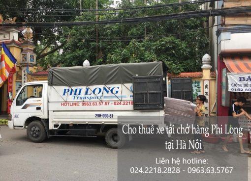Cho thuê xe tải giá rẻ tại phố Văn Quán