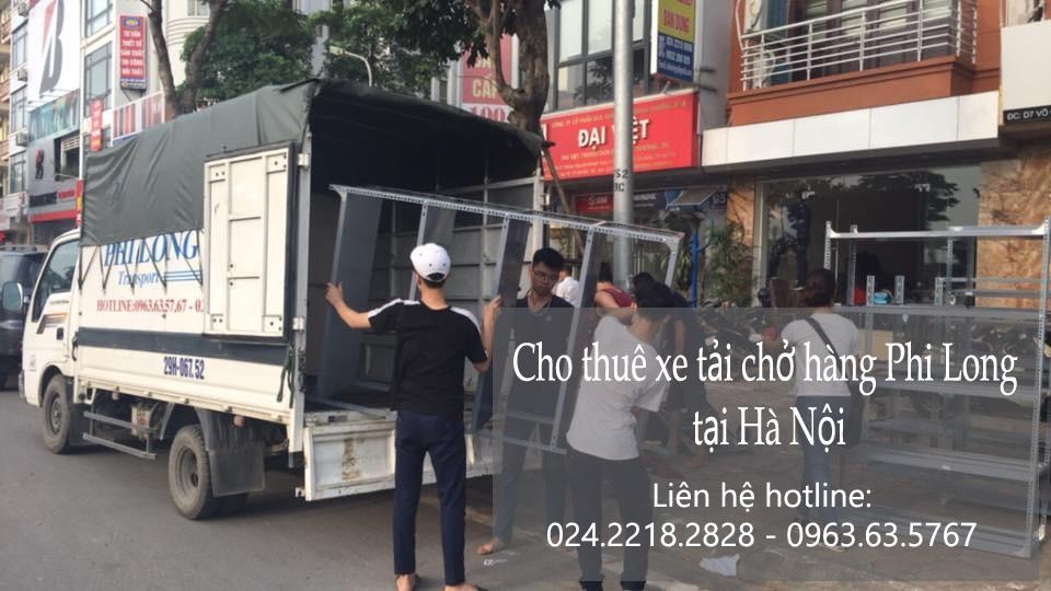 Dịch vụ cho thuê xe tải giá rẻ tại phố Thịnh Yên