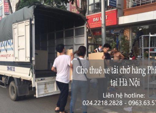 Cho thuê xe tải giá rẻ tại phố Thượng Đình 2019