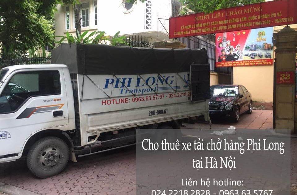 Cho thuê xe tải giá rẻ tại phường Hoàng Liệt