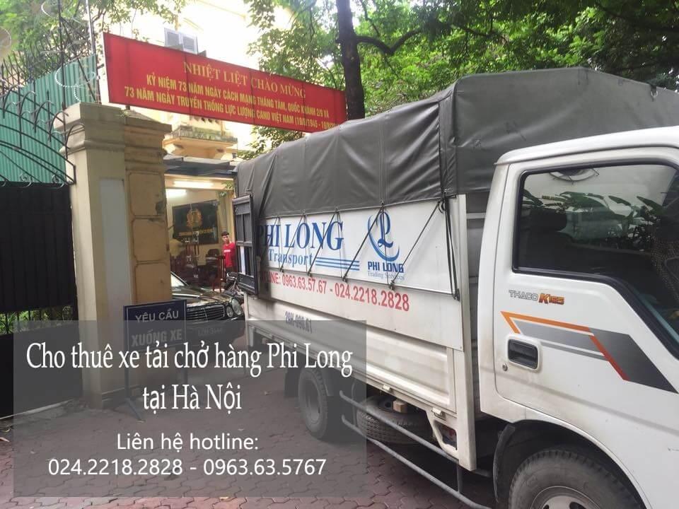 Cho thuê xe tải giá rẻ tại phố Cổ Tân