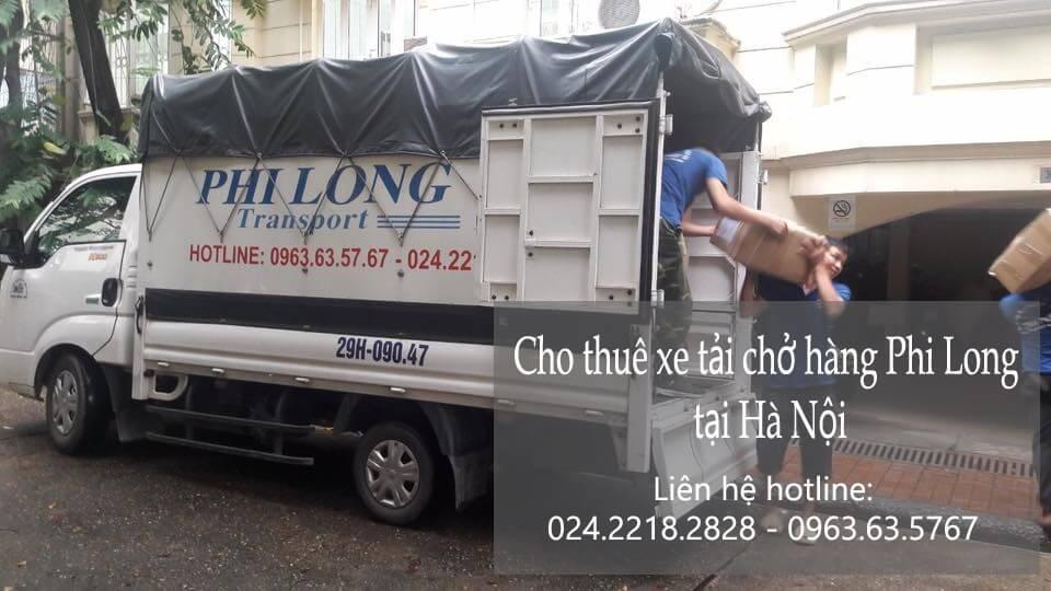 Dịch vụ cho thuê xe tải giá rẻ tại phố Đặng Vũ Hỷ