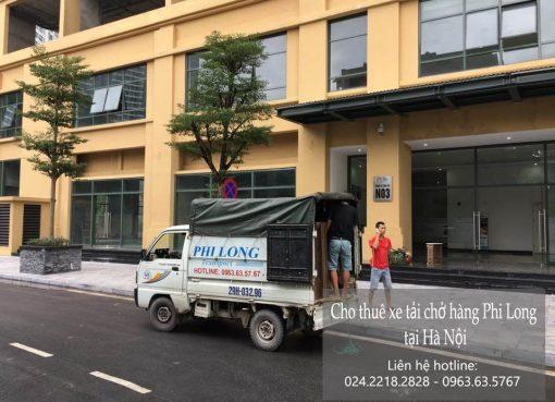 Dịch vụ cho thuê xe tải giá rẻ tại phố Đoàn Thị Điểm