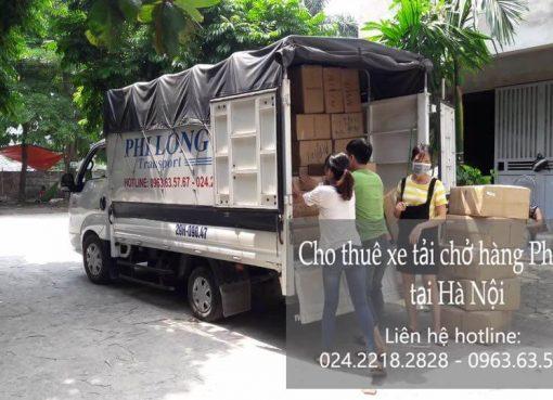 Dịch vụ cho thuê xe tải giá rẻ tại phố Đông Các