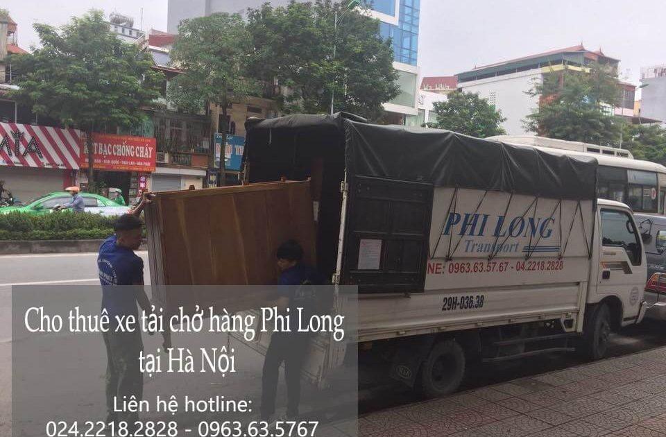 Dịch vụ cho thuê xe tải giá rẻ tại phố Chu Huy Mân