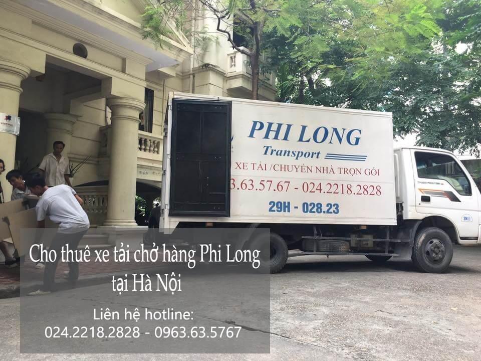 Dịch vụ cho thuê xe tải giá rẻ tại phố Gia Ngư
