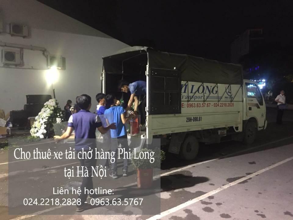 Dịch vụ cho thuê xe tải tại phố Hồ Giám