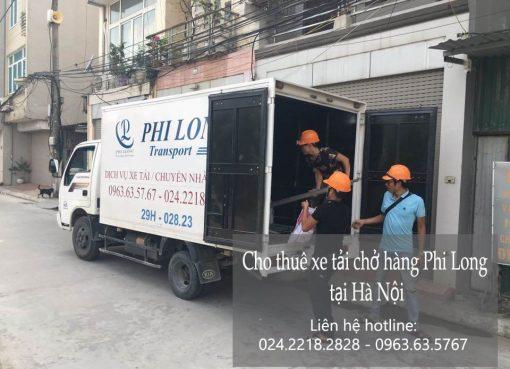 Dịch vụ cho thuê xe tải giá rẻ tại phố Đội Cấn